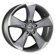MAK Raptor 5 8.5x19 5/114.3 DIA 76 graphite - mirror face