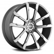 Momo Quantum 7x17 5/108 DIA 67.1 matt anthracite polished