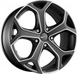 Momo (REDS) Dark Blade 6.5x15 5/114.3 DIA 72.3 matt anthracite polished