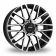 Momo Revenge 7x16 5/100 DIA 67.1 matt black polished
