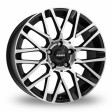 Momo Revenge 7x16 4/108 DIA 65.1 matt black polished