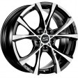 MSW Cross Over 7x16 5/112 DIA 73.1 black full polished