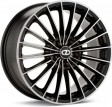 OZ Racing 35 Anniversary 8x19 5/112 DIA 75 black diamond cut