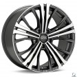 OZ Racing Cortina 9x19 5/130 DIA 71.6 matt dark graphite diamond cut