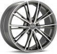 OZ Racing Envy 7.5x16 5/114.3 DIA 75 matt silver tech diamond cut