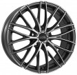 OZ Racing Italia 150 8x19 5/114.3 DIA 75 matt dark graphite diamond cut