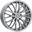 OZ Racing Italia 150 8x17 5/105 DIA 56.6 matt race silver + diamond cut