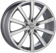 OZ Racing Lounge 10 7.5x17 5/110 DIA 75 metal silver diamond cut