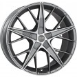 OZ Racing Quaranta 5 7.5x17 5/108 DIA 75 grigio corsa diamond cut