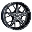 OZ Racing Quaranta 7x16 4/98 DIA 68 matt black diamond cut
