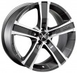 OZ Racing Sahara 5 8x18 5/114.3 DIA 79 matt graphite diamond cut