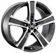 OZ Racing Sahara 5 8x17 5/114.3 DIA 79 matt graphite diamond cut