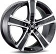 OZ Racing Sahara 8x17 5/114.3 DIA 79 matt graphite diamond cut