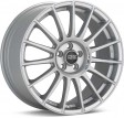 OZ Racing Superturismo LM 8.5x19 5/114.3 DIA 75 matt race silver + black lettering
