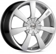 OZ Racing Titan 8x17 5/108 DIA 75 crystal titanium