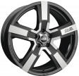 OZ Racing Versilia 8x19 5/114.3 DIA 75 matt black diamond cut