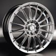 Racing Wheels Classic H-155 7x16 5/100 DIA 67.1 HP/HS