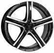 Rial Quinto 8x18 5/114.3 DIA 70.1 diamond-black front polished