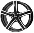 Rial Quinto 8x18 5/114.3 DIA 70.1 diamond black - front polished