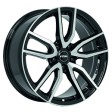 Rial Torino 8x18 5/114.3 DIA 70.1 diamond-black front polished
