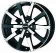 Rial Trenta 8x18 5/112 DIA 70.1 racing-black front polished