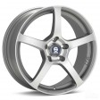 Sparco RTT524 7x16 4/108 DIA 73.1 matt silver tech diamond cut