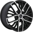 TGRacing LZ742 6.5x16 5/114.3 DIA 60.1 matt black polished