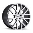 TSW Donington 8x18 5/114.3 DIA 76 gunmetal machined cut face