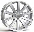 Replica Volkswagen W453 Linz 7.5x17 5/112 DIA 57.1 silver polished lip