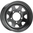 DOTZ Pharao dark 6x15 5/139.7 DIA 110.5 Black