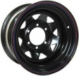 Offroad wheels Off Road 7x17 6/139.7 DIA 110.5 Black