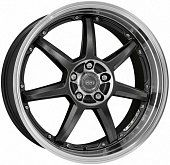 Dotz Fast seven 8x18 5x120 ET45 dia 72,6 anthracite polished lip Германия