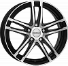 Dezent TZ dark 7,5x18 5x112 ET51 dia 57,1 black polished