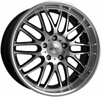 Dotz Mugello 6,5x15 4x108 ET35 dia 70,1 black polished ГЕРМАНИЯ