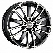 ATS X-treme 8x18 5x120 ET35 dia 72,6 racing black front polished Германия