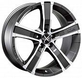 OZ Racing Sahara 5 8x18 5x127 ET40 dia 71,6 matt graphite diamond cut Италия